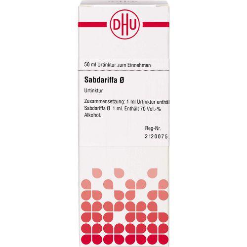 SABDARIFFA Urtinktur D 1