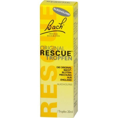 BACH ORIGINAL Rescue Tropfen alkoholfrei (Nachfolger Rescura PZN 16391818)