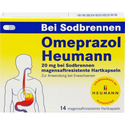 OMEPRAZOL Heumann 20 mg b.Sodbr.magensaftr.Hartk.