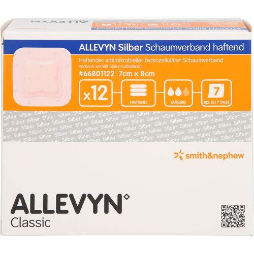 ALLEVYN Silber Schaumverb.7x8 cm haftend