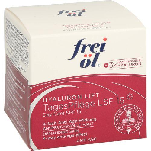 FREI ÖL Anti-Age Hyaluron Lift TagesPflege LSF 15