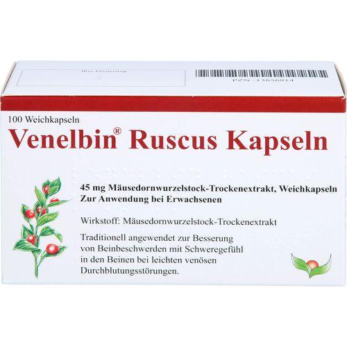 MIT Gesundheit GmbH VENELBIN Ruscus Kapseln 100 St