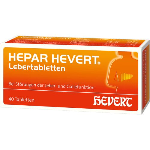 HEPAR HEVERT Lebertabletten