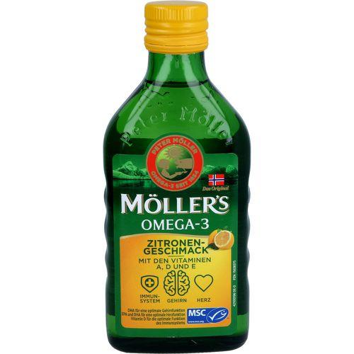 doletra Health GmbH, Inh. Anna Kutter MÖLLER'S Omega-3 Zitronengeschmack Öl 250 ml