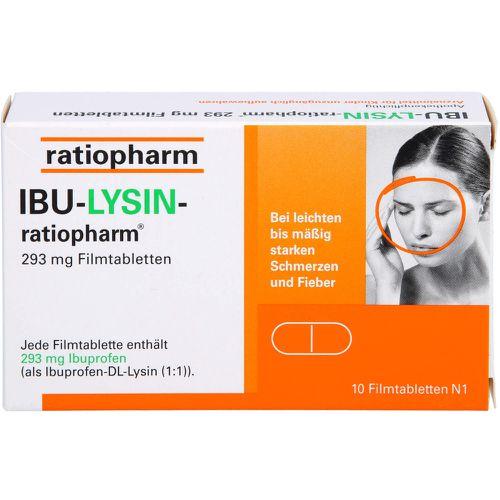 IBU-LYSIN-ratiopharm 293 mg Filmtabletten