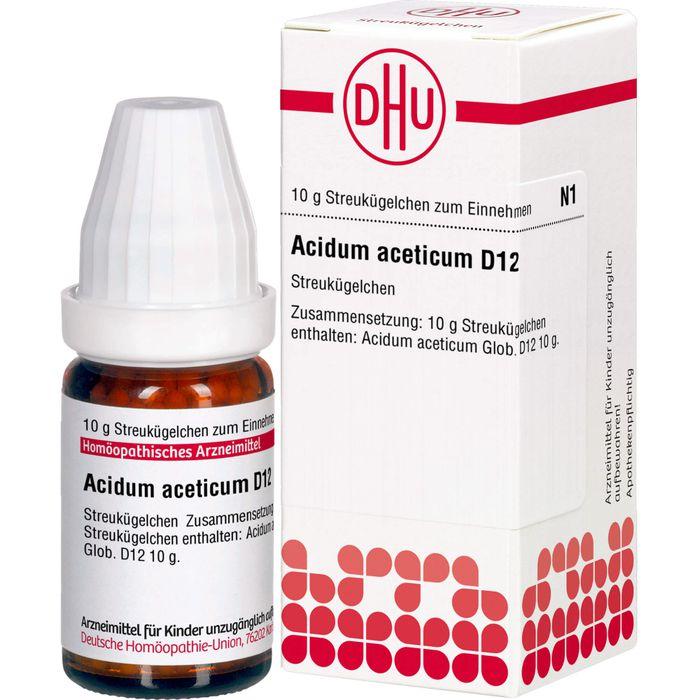 ACIDUM ACETICUM D 12 Globuli