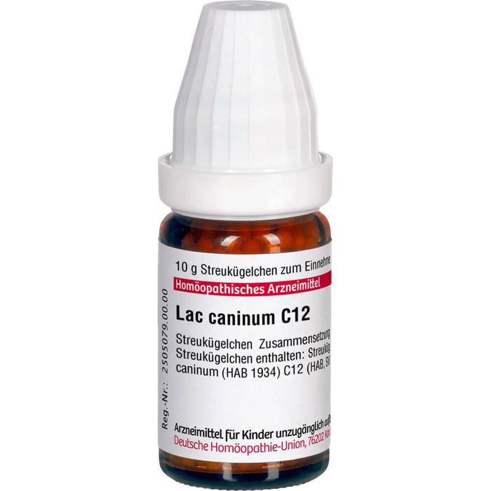 LAC CANINUM C 12 Globuli