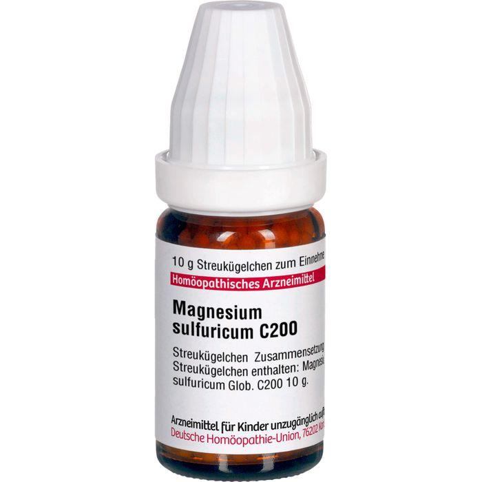 MAGNESIUM SULFURICUM C 200 Globuli