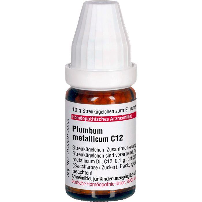 PLUMBUM METALLICUM C 12 Globuli