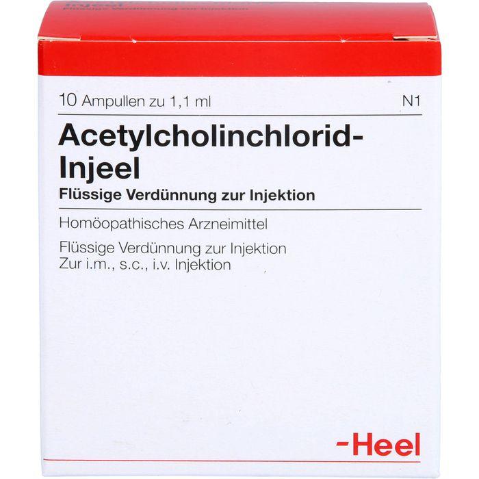 ACETYLCHOLINCHLORID Injeel Ampullen