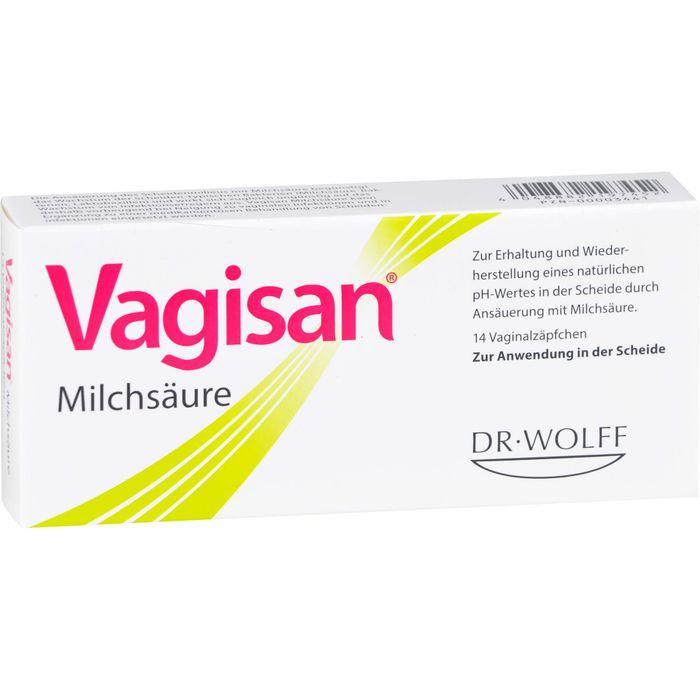VAGISAN Milchsäure Vaginalzäpfchen