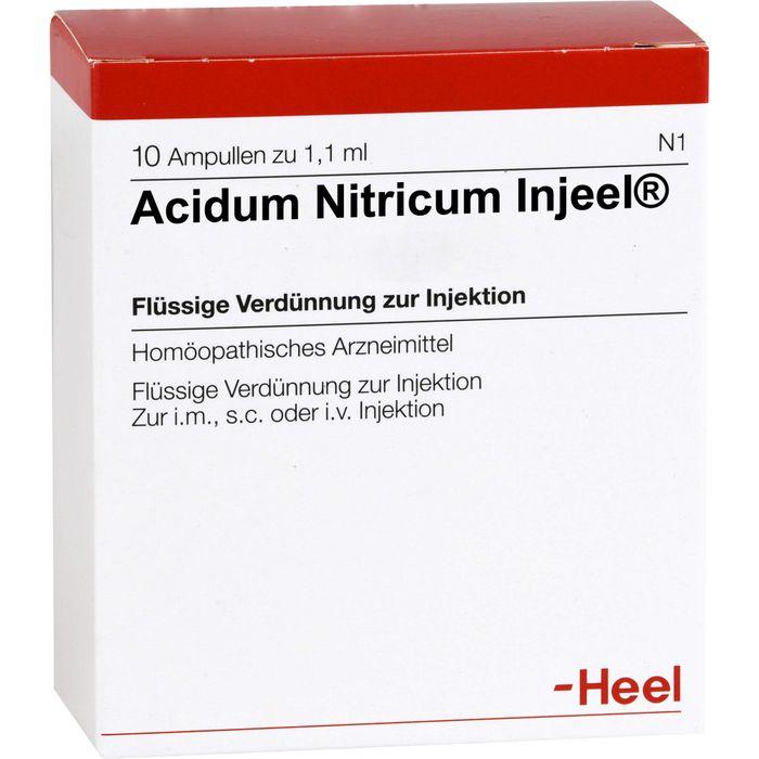 ACIDUM NITRICUM INJEEL Ampullen