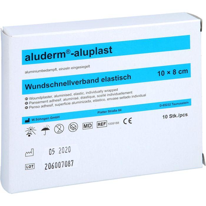 ALUDERM aluplast Wundverb.Pfl.8 cmx1 m elast.
