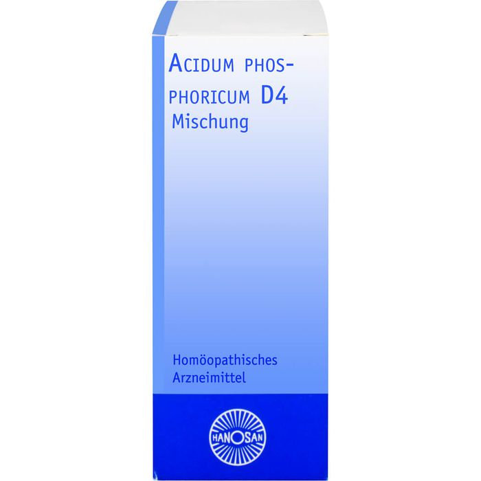 ACIDUM PHOSPHORICUM D 4 Hanosan Dilution