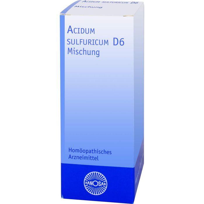 ACIDUM SULFURICUM D 6 Dilution