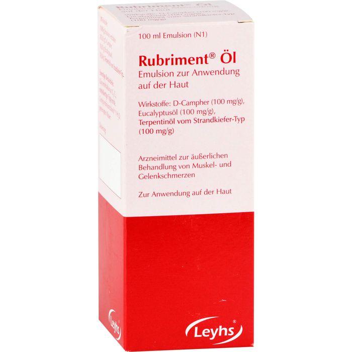 RUBRIMENT Öl