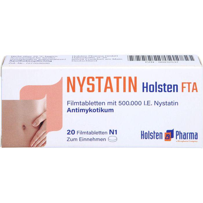 NYSTATIN Holsten Filmtabletten