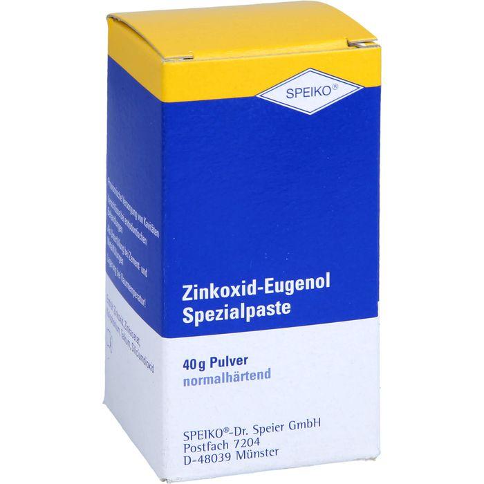 ZINKOXID-Eugenol Spezialpaste normalhärtend Plv.