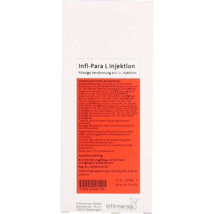 INFI PARA L Injektion Ampullen