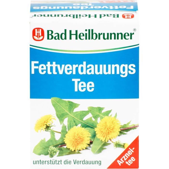 BAD HEILBRUNNER Fettverdauungstee Filterbeutel