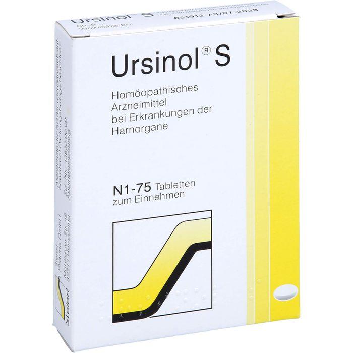 URSINOL S Tabletten
