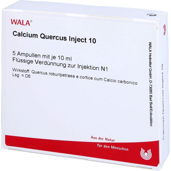 CALCIUM QUERCUS Inject 10 Ampullen