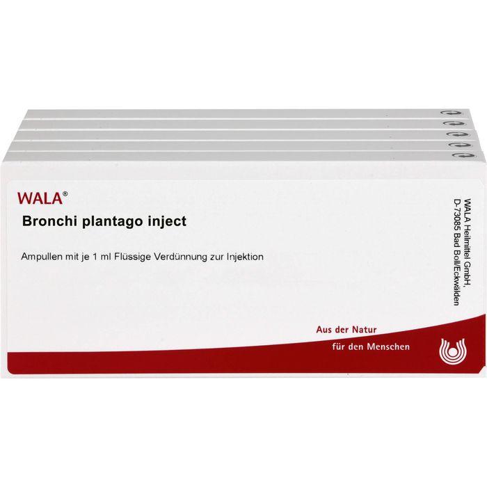 BRONCHI PLANTAGO Inject Ampullen