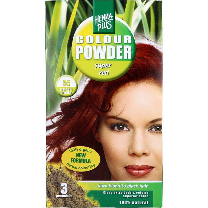 HENNAPLUS Colour Powder super red 55
