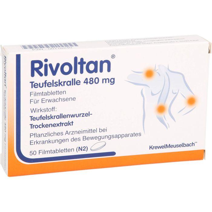 RIVOLTAN Teufelskralle 480 mg Filmtabletten