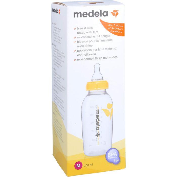 MEDELA Milchflasche 250 ml m.Sauger Gr.M