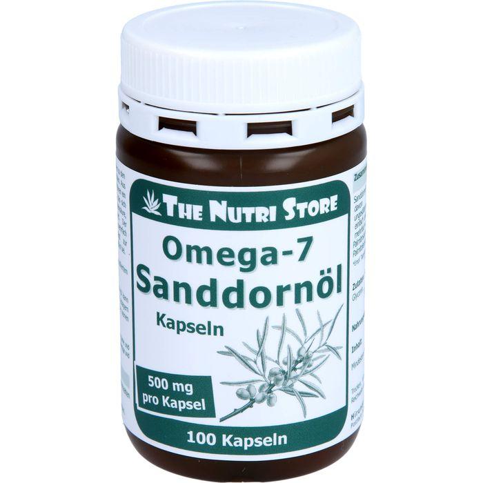 OMEGA 7 Sanddornöl 500 mg Bio Kapseln