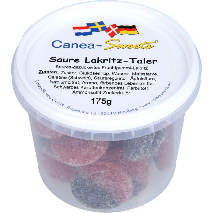 SAURE LAKRITZ Taler Bonbons