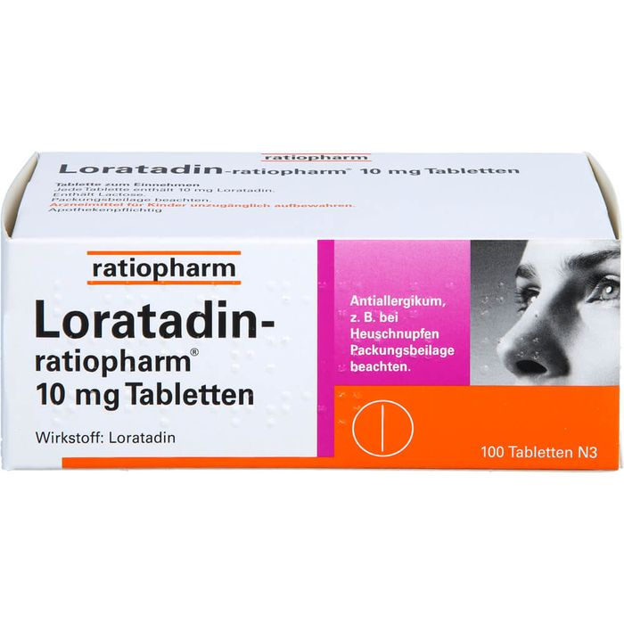 LORATADIN-ratiopharm 10 mg Tabletten