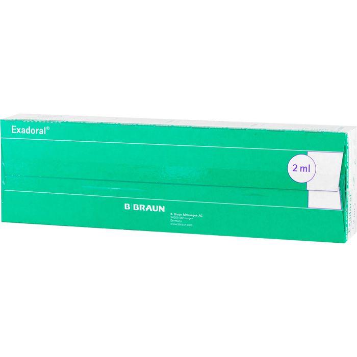 EXADORAL B.Braun orale Spritze 2 ml