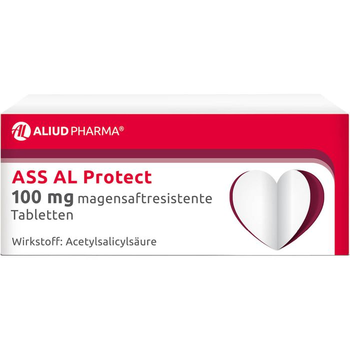 ASS AL Protect 100 mg magensaftres.Tabletten