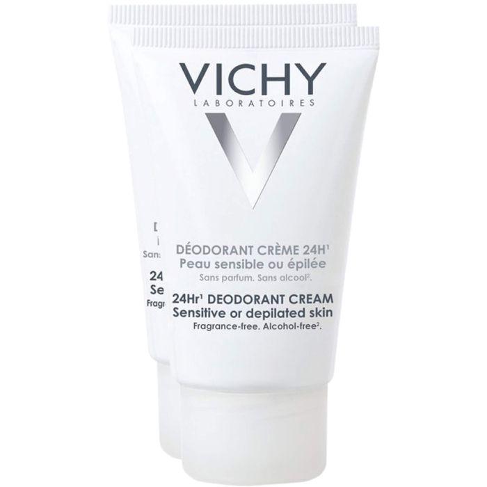 VICHY DEO Creme f.empfindliche Haut Doppelpack