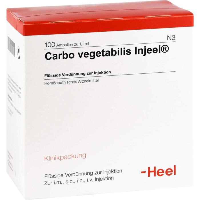 CARBO VEGETABILIS INJEEL Ampullen