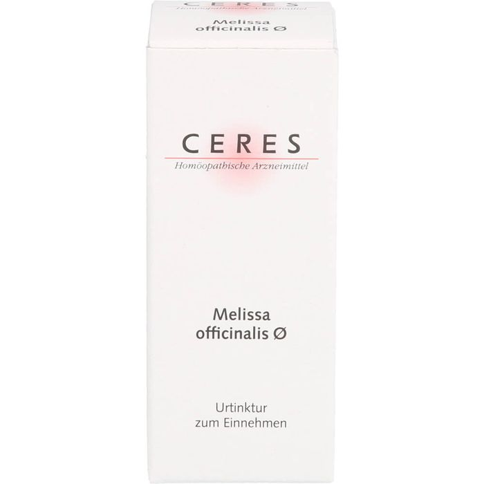 CERES Melissa officinalis Urtinktur
