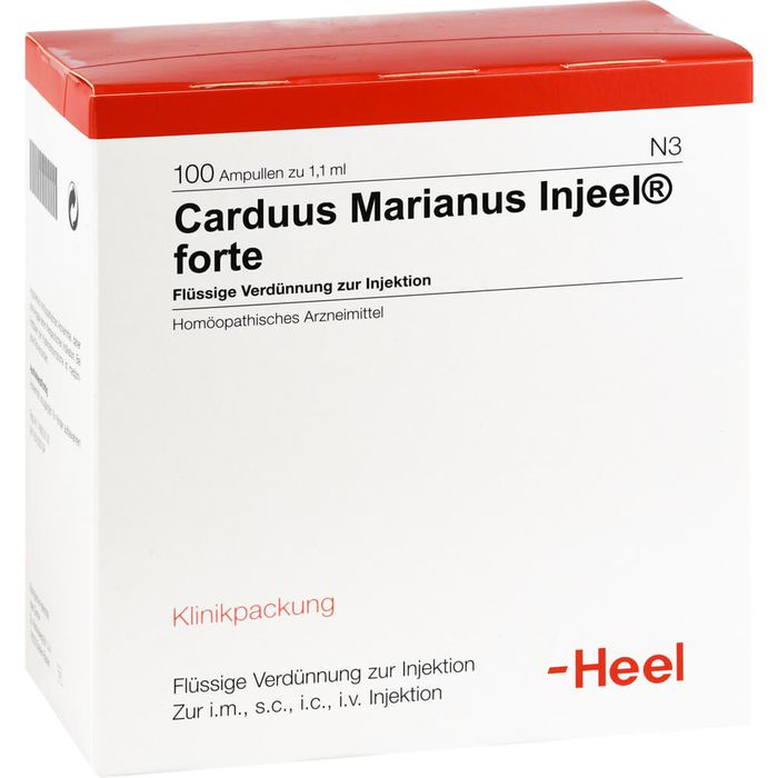 CARDUUS MARIANUS INJEEL forte Ampullen