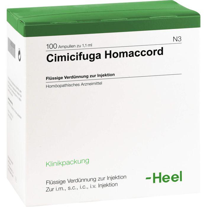 CIMICIFUGA HOMACCORD Ampullen