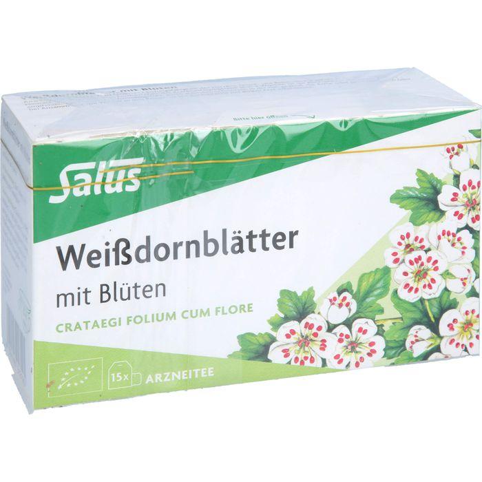 WEISSDORNBLÄTTER m.Blüten Arzneitee Bio Salus
