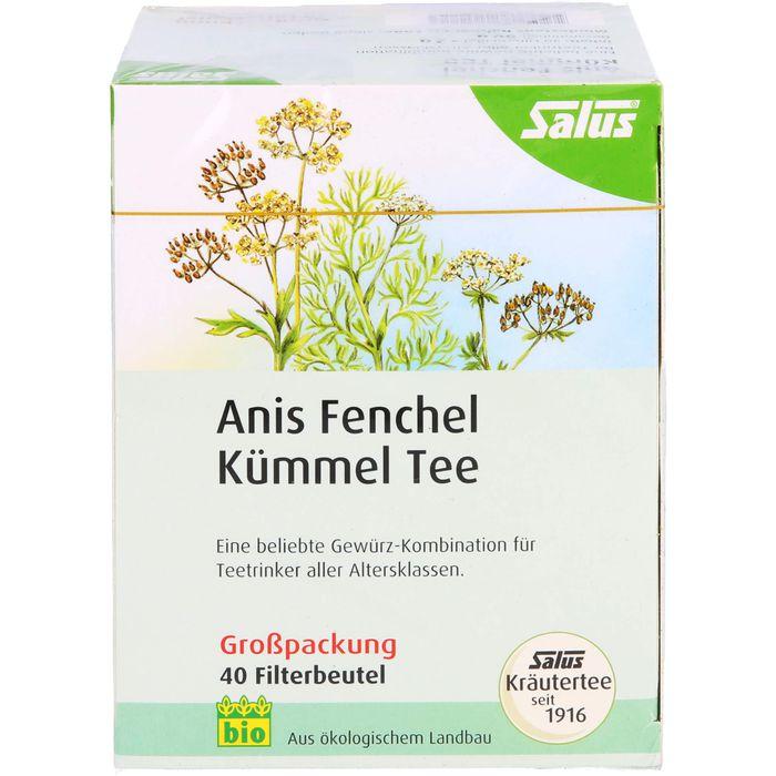 ANIS FENCHEL Kümmel Tee AFeKü Bio Salus Filterbtl.