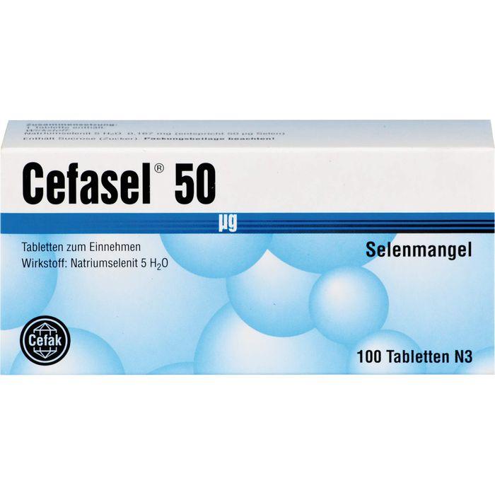CEFASEL 50 μg Tabletten