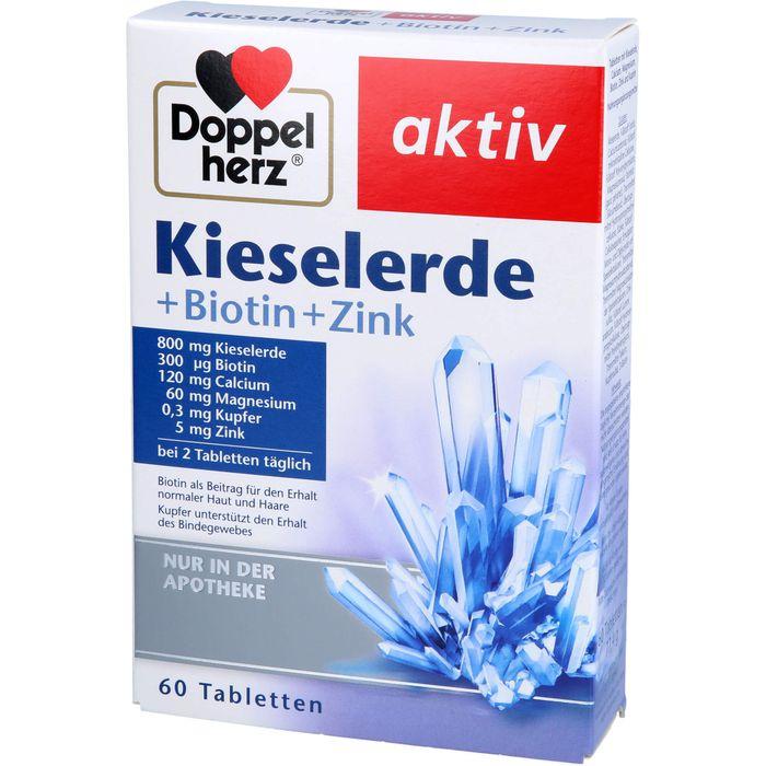 DOPPELHERZ Kieselerde+Biotin Tabletten