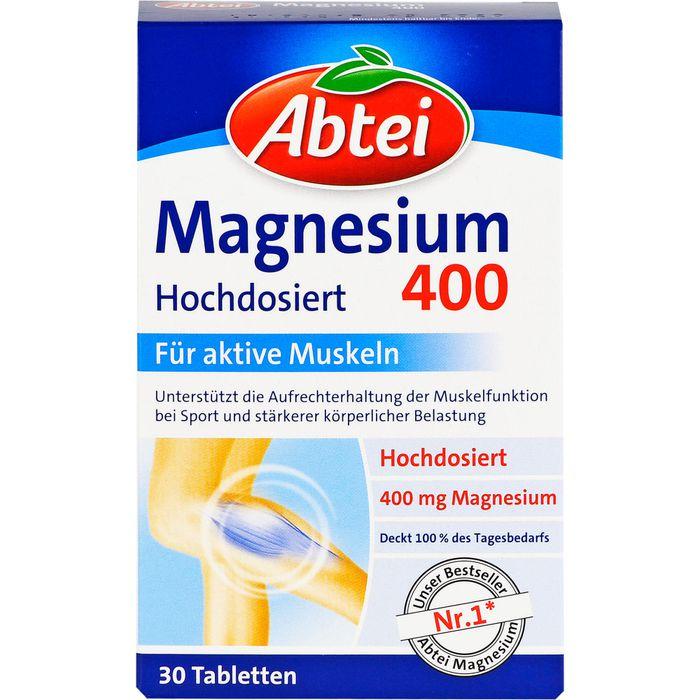 ABTEI Magnesium 400 Tabletten