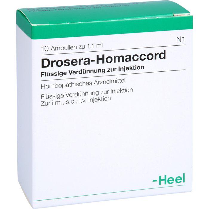 DROSERA HOMACCORD Ampullen