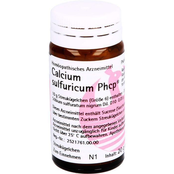 CALCIUM SULFURICUM PHCP Globuli