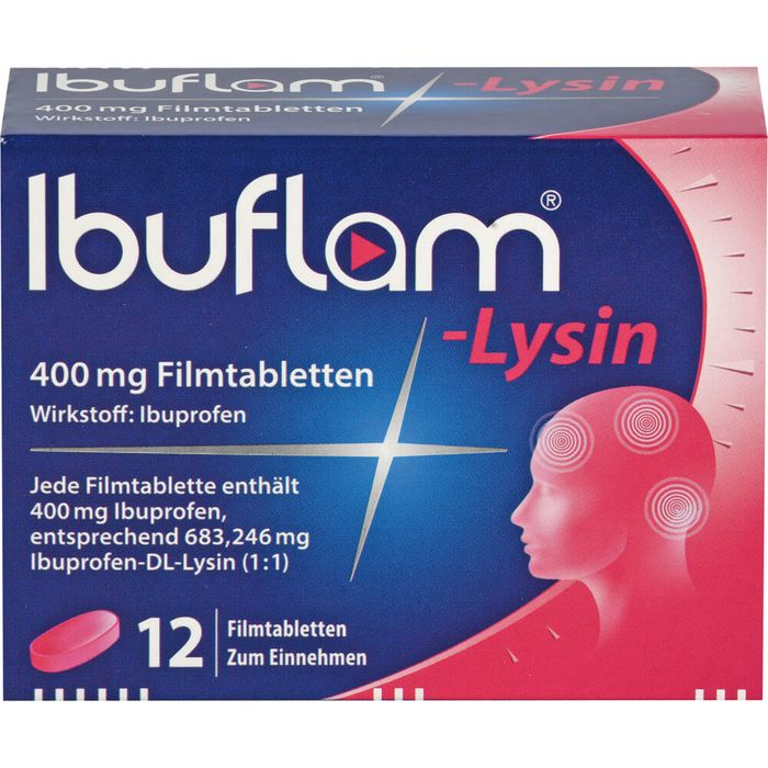 IBUFLAM-Lysin 400 mg Filmtabletten