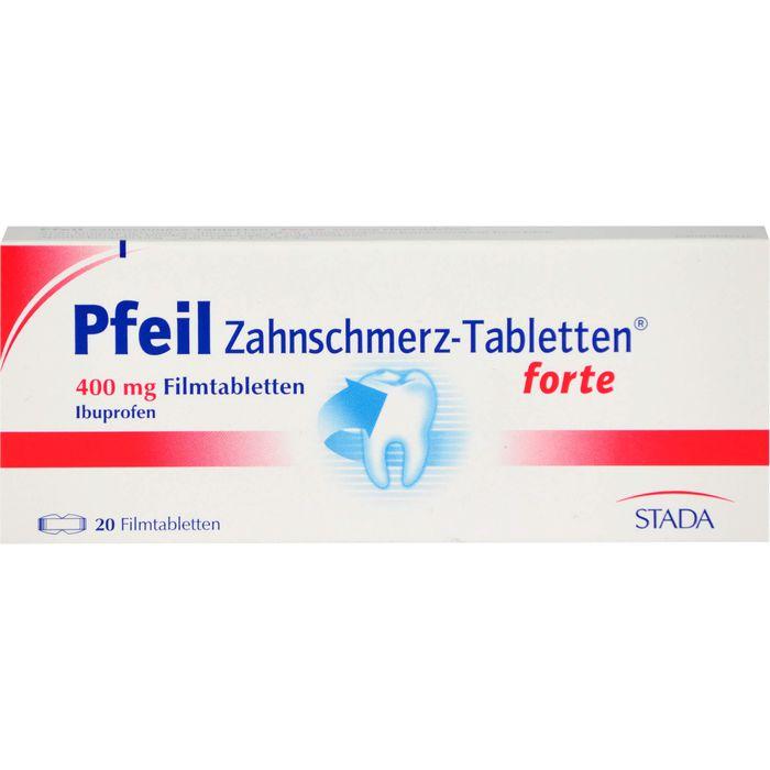 PFEIL Zahnschmerz Filmtabletten forte