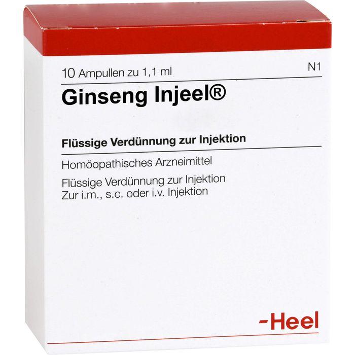 GINSENG INJEEL Ampullen